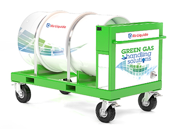 Air Liquide g3 Service cart for gas tank