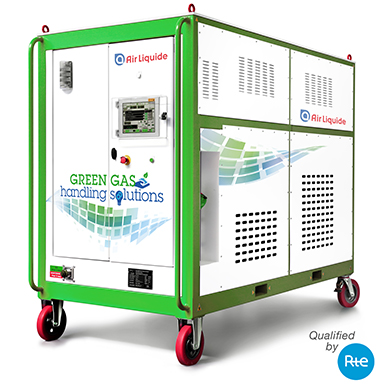 Air Liquide g3 liquid-to-gas Service cart