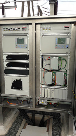 CTOs, VTOs and XMU merging units installed in Scotland Wishaw Substation